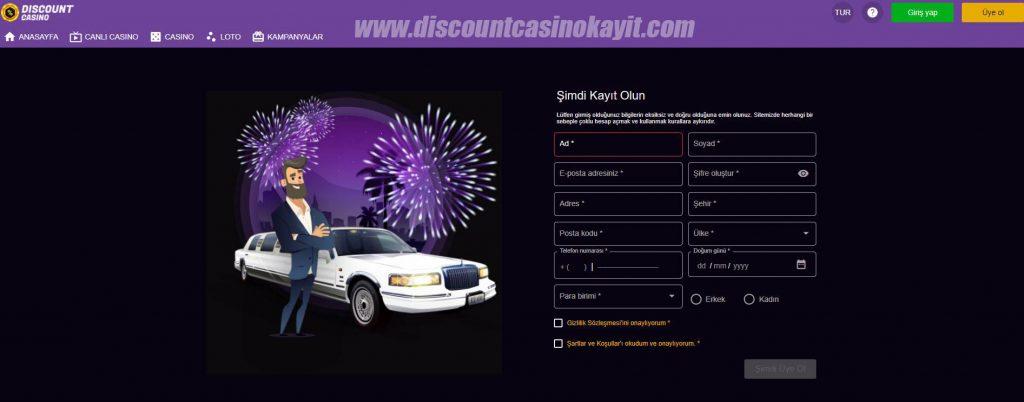 Discount Casino Twitter - Discount Casino Kayıt İşlemi
